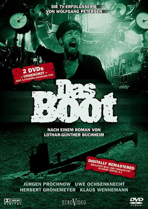 DVD Cover: Das Boot - TV Serie