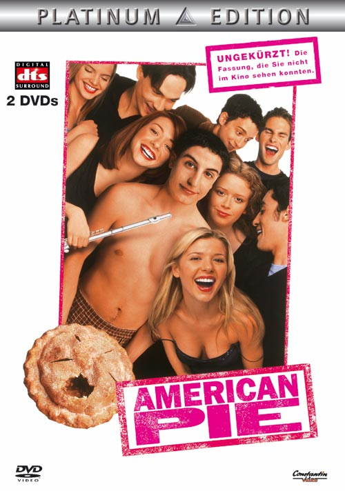 DVD Cover: American Pie - ungek�rzt - Platinum Edition