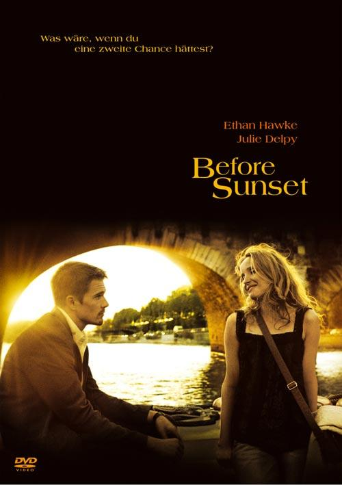 DVD Cover: Before Sunset