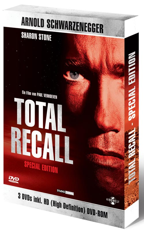 DVD Cover: Total Recall - Die totale Erinnerung - Special Edition