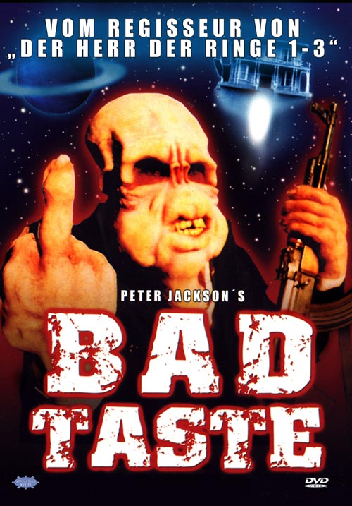 DVD Cover: Bad Taste