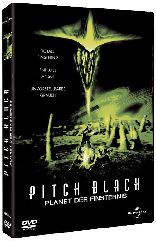 DVD Cover: Pitch Black - Planet der Finsternis