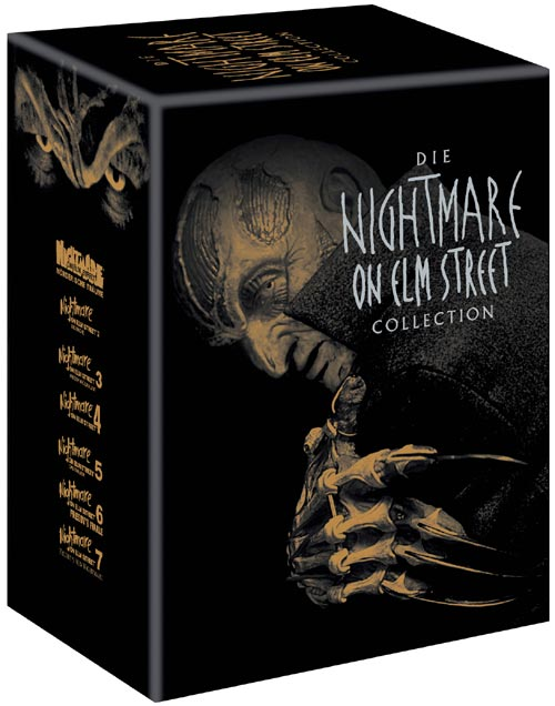 DVD Cover: Die Nightmare on Elm Street Collection