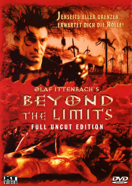 DVD Cover: Beyond the Limits - Full Uncut Edition