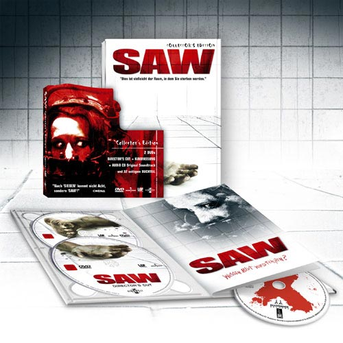 DVD Cover: SAW - Director's Cut - Collector's Edition