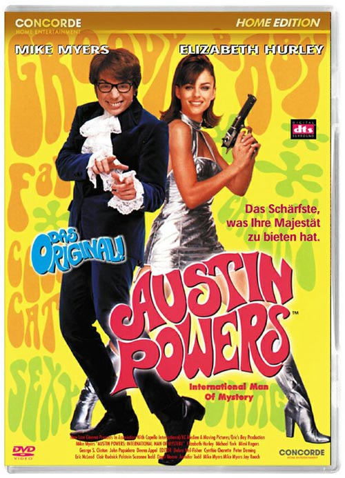 DVD Cover: Austin Powers