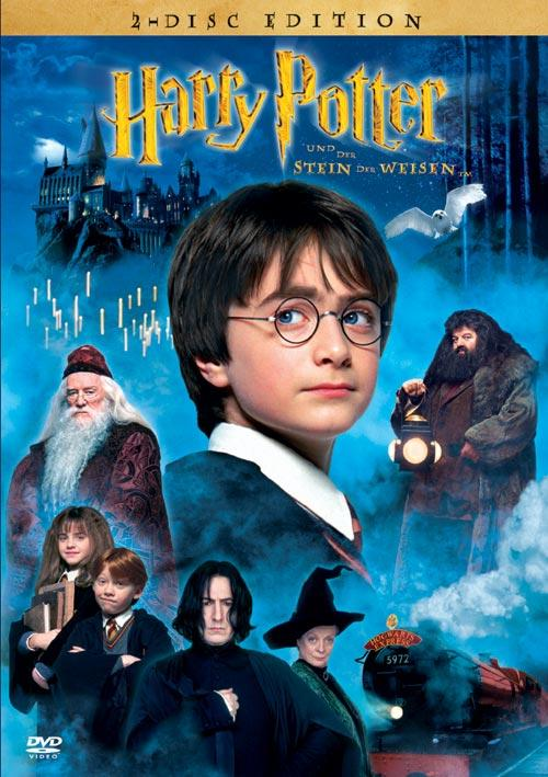 DVD Cover: Harry Potter und der Stein der Weisen - 2-Disc Edition