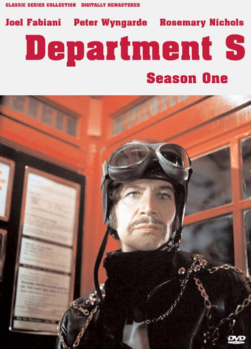 DVD Cover: Department S - Season One