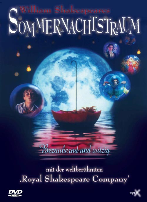 DVD Cover: William Shakespeares Sommernachtstraum
