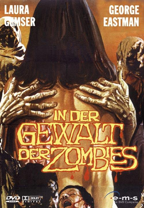 DVD Cover: In der Gewalt der Zombies
