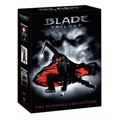 DVD Cover: Blade Trilogy - The Ultimate Collection