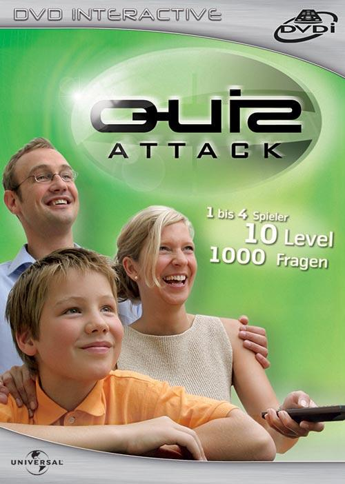DVD Cover: Quiz Attack - DVD Interactive