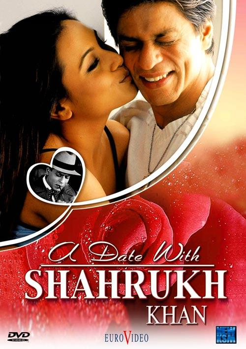 DVD Cover: A Date With Shahrukh Khan
