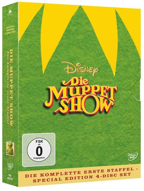 DVD Cover: Die Muppet Show - 1. Staffel - Special Edition 4-Disc Set