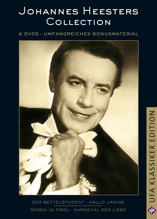 DVD Cover: Johannes Heesters Collection - UfA Klassiker Edition