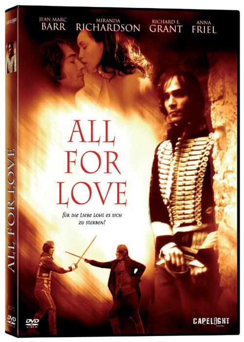 DVD Cover: All for Love