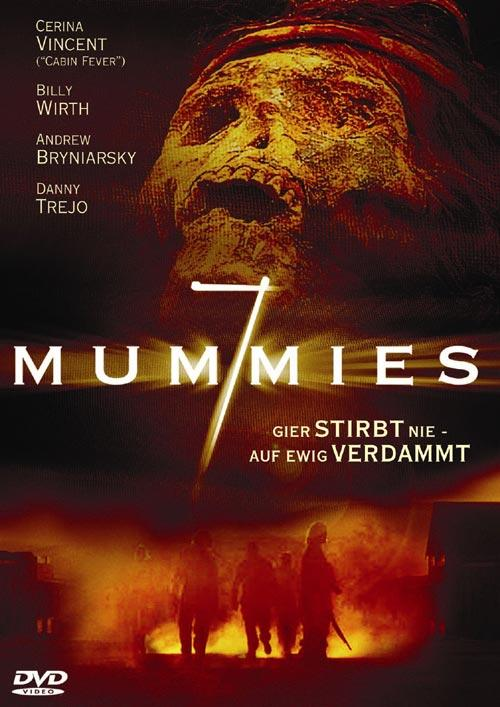 DVD Cover: 7 Mummies