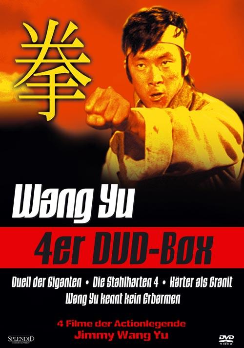 DVD Cover: Wang Yu 4er Box - 4er DVD-Box