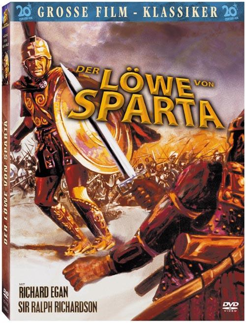DVD Cover: Der L�we von Sparta - Fox: Gro�e Film-Klassiker