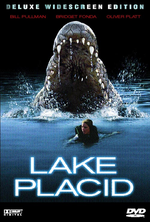 DVD Cover: Lake Placid