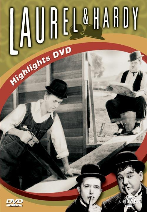 DVD Cover: Laurel & Hardy - HIGHLIGHTS