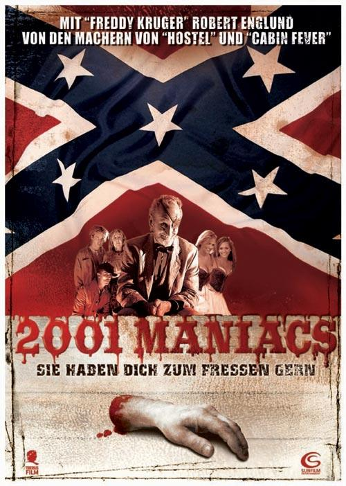 DVD Cover: 2001 Maniacs