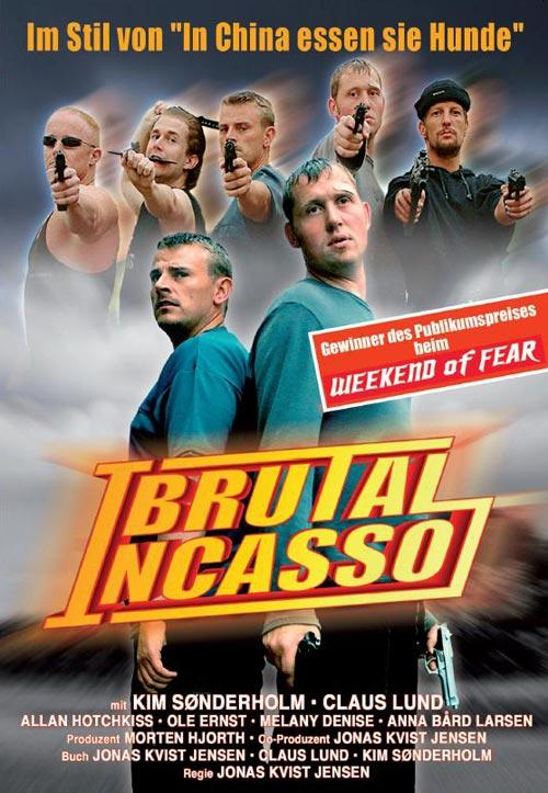 DVD Cover: Brutal Incasso
