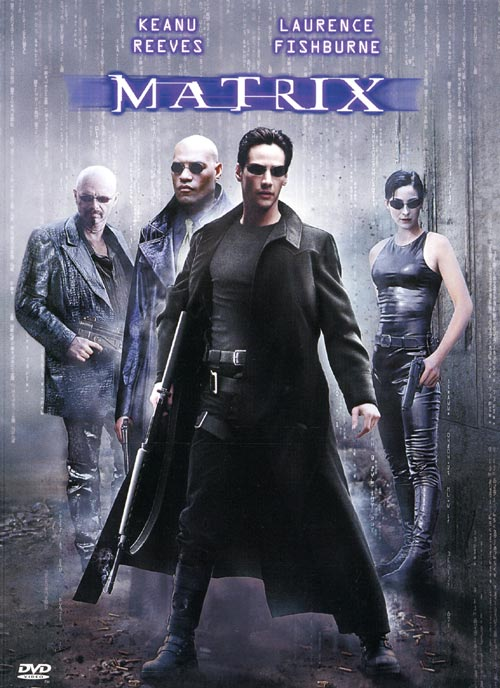 DVD Cover: Matrix