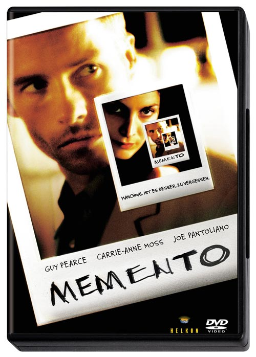 DVD Cover: Memento