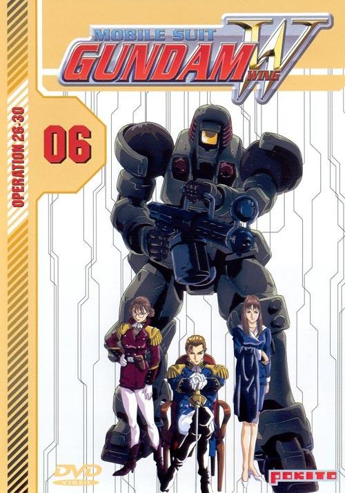 DVD Cover: Gundam Wing - Mobile Suit - Vol. 6