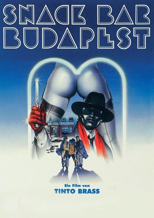 DVD Cover: Tinto Brass - Snack Bar Budapest