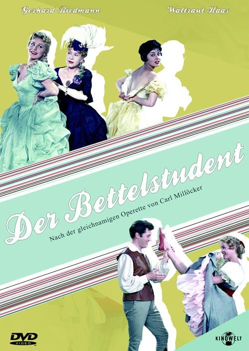 DVD Cover: Der Bettelstudent