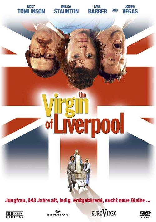 DVD Cover: The Virgin of Liverpool