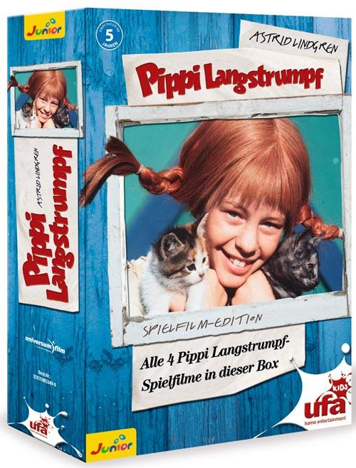 DVD Cover: Pippi Langstrumpf - Spielfilm-Edition