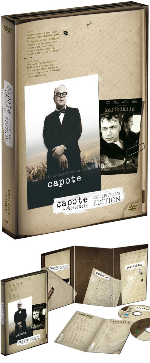 DVD Cover: Capote / Kaltblütig - Collector's Edition