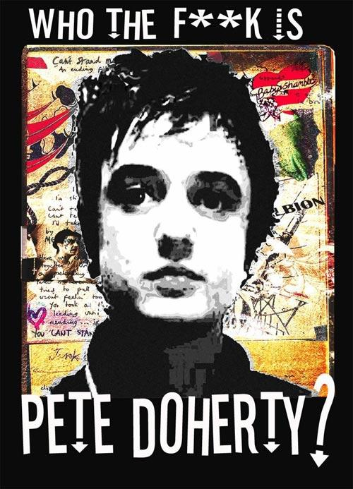 DVD Cover: Who the F**k Is Pete Doherty?