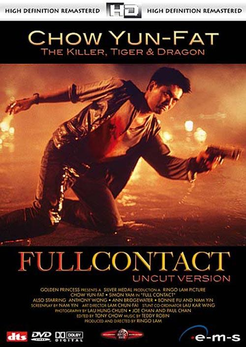 DVD Cover: Full Contact - High Definition Remastered