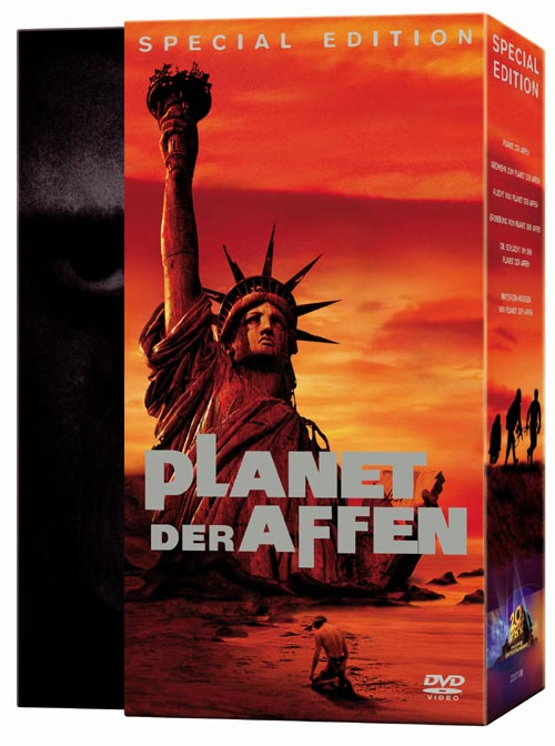 DVD Cover: Planet der Affen - Box