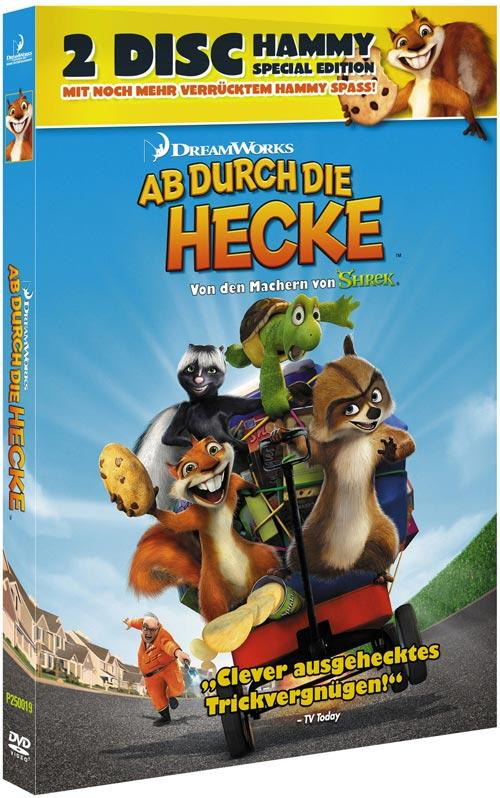 DVD Cover: Ab durch die Hecke - 2 Disc Hammy Special Edition