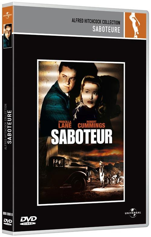 DVD Cover: Alfred Hitchcock Collection - Saboteure