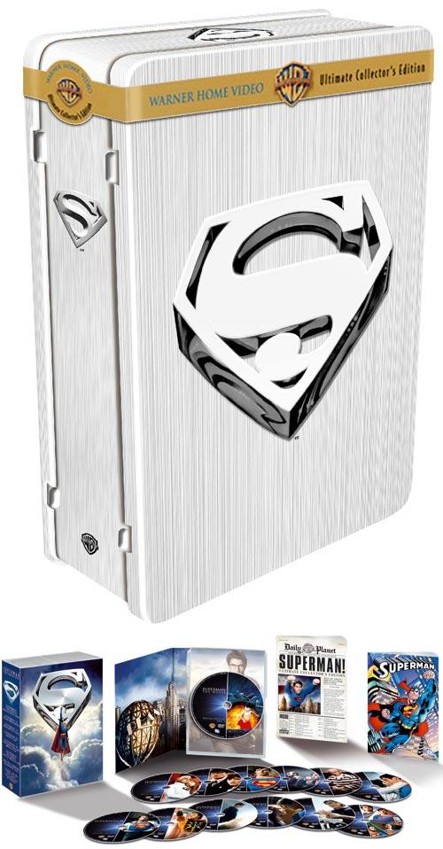 DVD Cover: Superman Ultimate Collector's Edition
