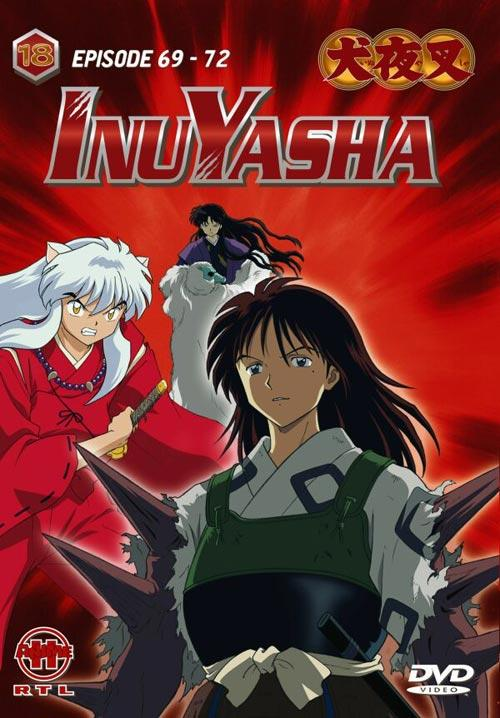 DVD Cover: InuYasha - Vol. 18
