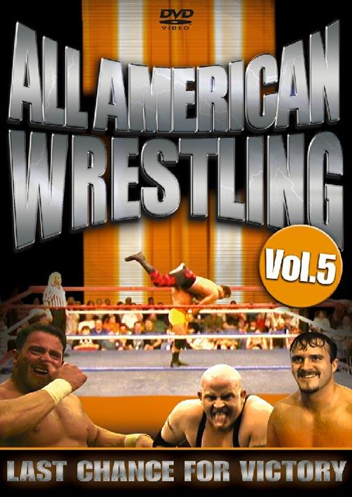 DVD Cover: All American Wrestling - Vol. 5