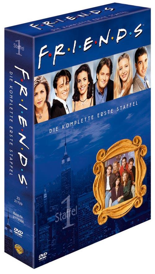 DVD Cover: FRIENDS Staffel 1 Box Set