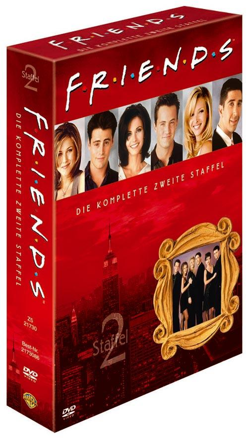 DVD Cover: FRIENDS Staffel 2 Box Set