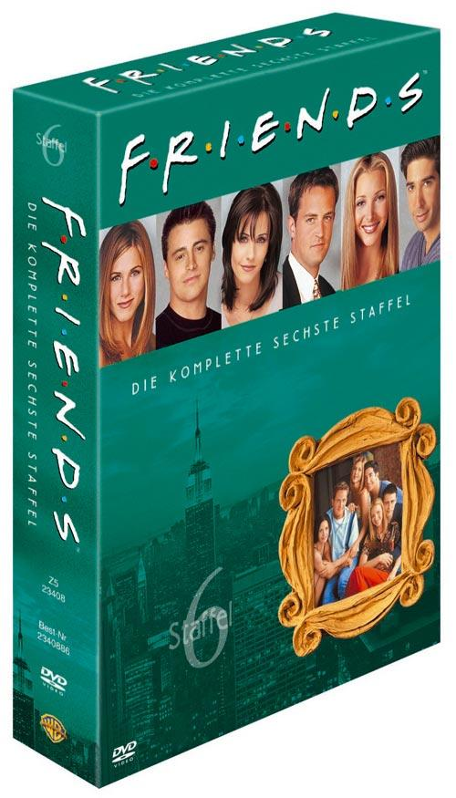 DVD Cover: FRIENDS Staffel 6 Box Set