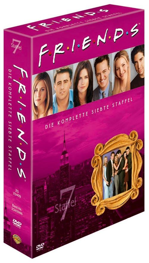 DVD Cover: FRIENDS Staffel 7 Box Set