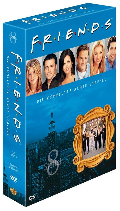 DVD Cover: FRIENDS Staffel 8 Box Set