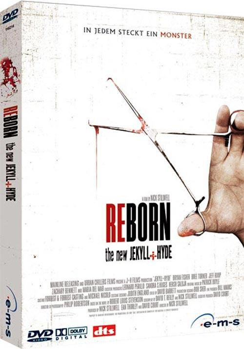 DVD Cover: Reborn - The new Jekyll & Hyde