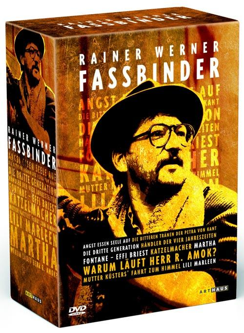 DVD Cover: Rainer Werner Fassbinder Edition